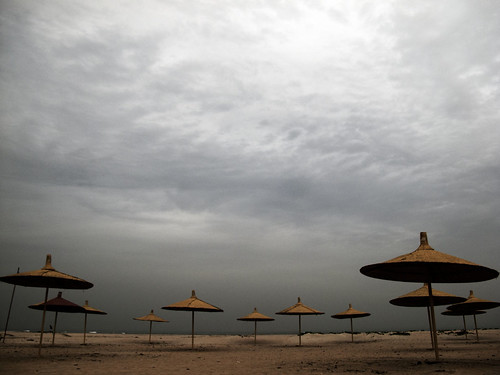 travel sky beach moody palapas thegambia