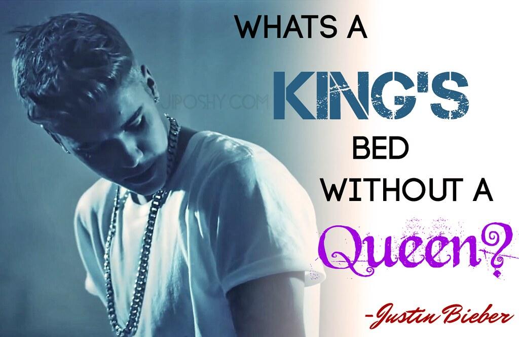 JUSTIN BIEBER QUEEN KING QUOTES LOVE INSPIRATIONAL WALLPAP ...
