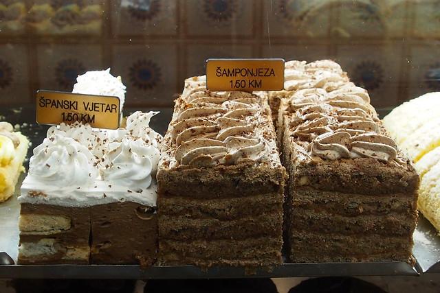 Egyptian's cake. Baščaršija. Sarajevo.