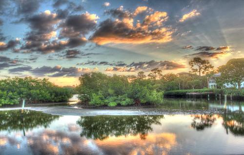 sun water creek canon reflections florida rise ainger
