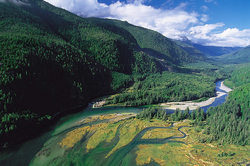 Bedwell River Valley off Bedwell Sound, West Coast Vancouver Island, British Columbia. Photo: Clayoquot Wilderness Resort: www.wildretreat.com