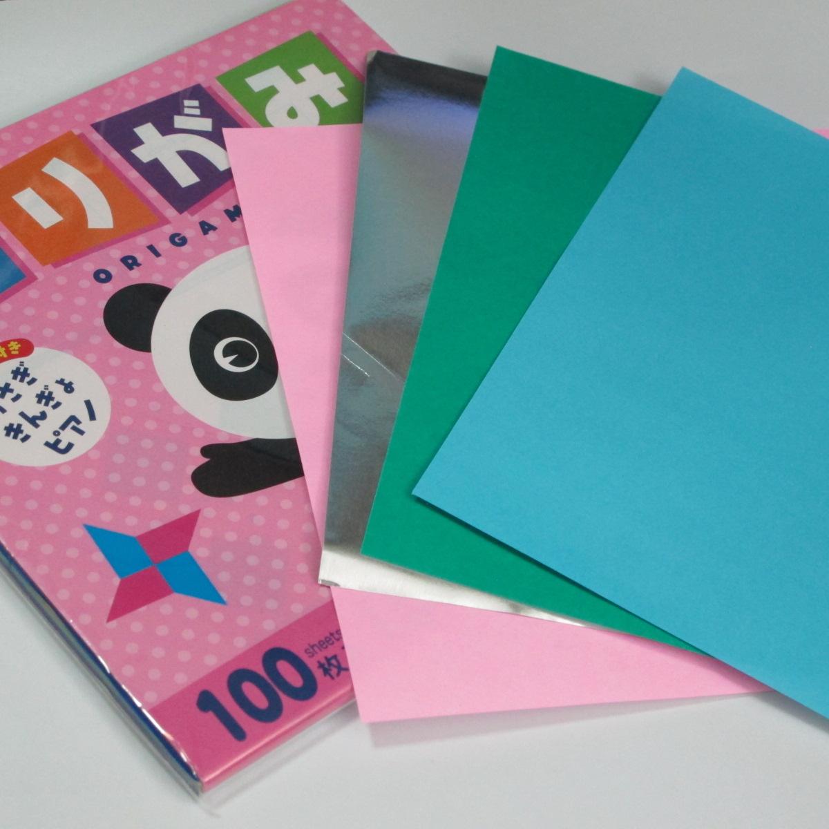 เลือกซื้อกระดาษสำหรับพับโอริงามิ (Origami paper) 002