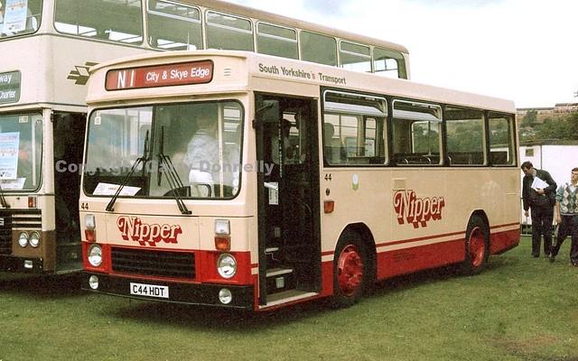South Yorkshire PTE 44 C44 HDT