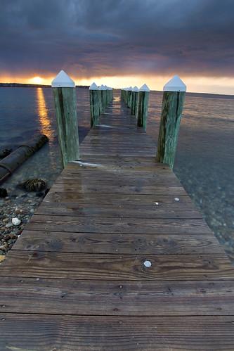 sunset seascape pier waterfront capecod massachusetts newengland marthasvineyard dramaticsky canonef1740mmf4lusm canon6d vineyardheaven