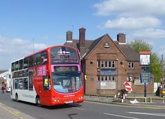 Travel West Midlands 4716 in Dudley