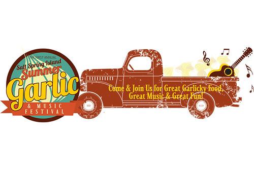 Salt Spring Island Garlic & Music Festival, Salt Spring Island, Gulf Islands, British Columbia