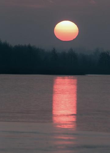 winter lake ice sunrise frozen frost natur icy eis sonnenaufgang naturfotografie steinhudermeer