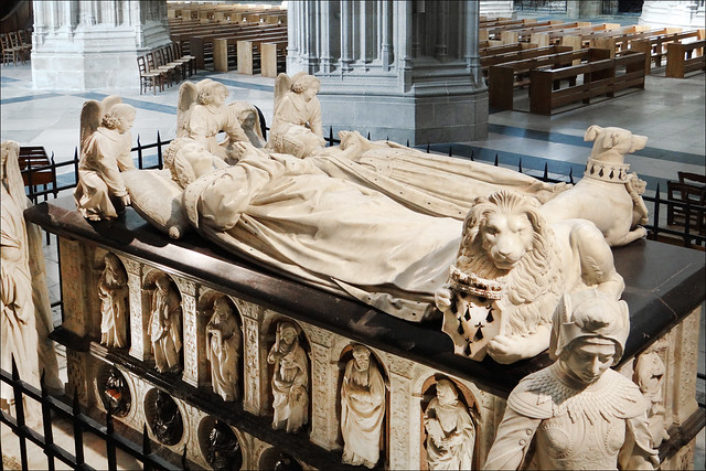 Le tombeau de François II de Bretagne (cathédrale de Nantes)