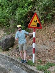 Nicht runterfallen - Roadtrip Hue - Hoi An