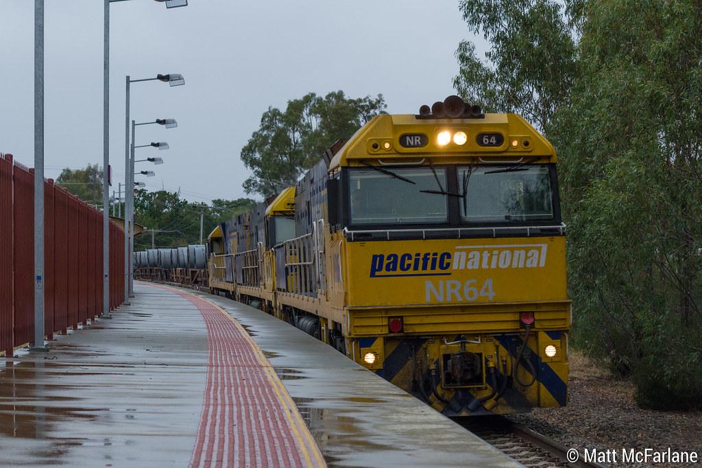 Triple NR Class Steel Train by Matt McFarlane