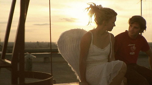On the roof with an Angel :) (Scene from '13 stages') | by soda.film