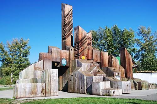 Phifers Fountain on the Trans-Canada Trail, Princeton, Similkameen, British Columbia