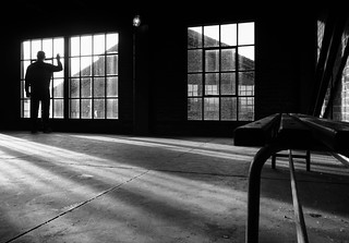 Man at the window | by Georgie Pauwels
