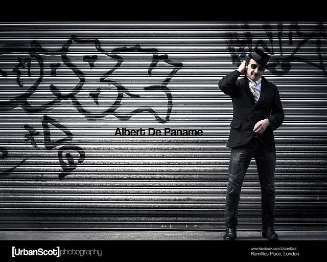 Street Portrait Challenge 004 Albert