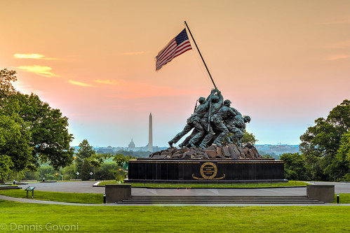 sky america sunrise dc military flags capitol washingtonmonument iwojima