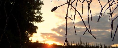 sunset photo michigan mtpleasant uniontownship