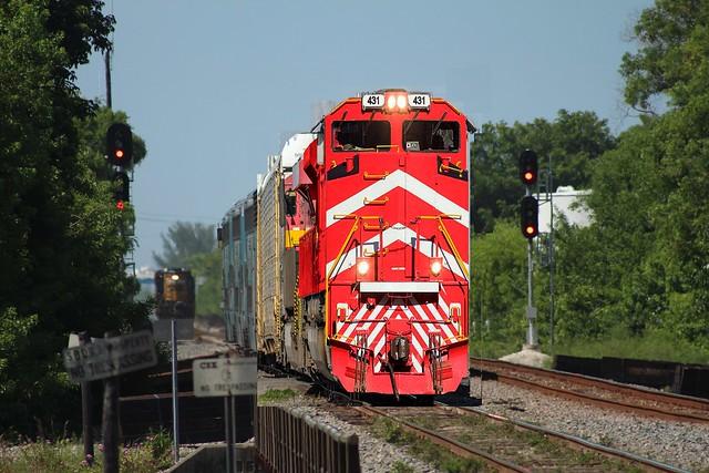 VTR 431 almost on original rails