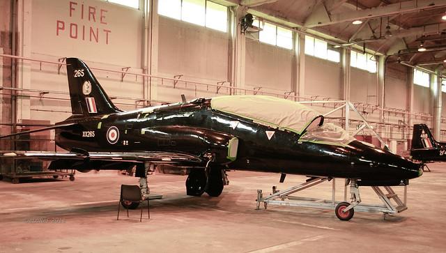 XX265 Hawker Siddeley Hawk T.1A c/n 41H-312101 265 19Sq