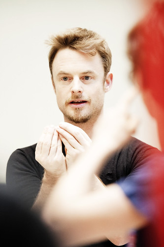 Christopher Wheeldon in action.