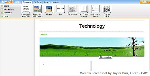Weebly Website Builder by Taylor Barr | Project IDEA | Flickr