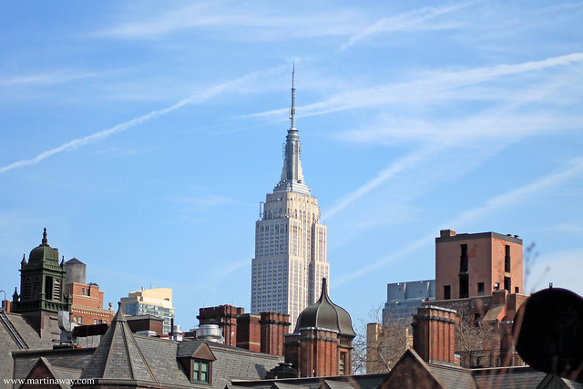 Empire State Building from the High Line