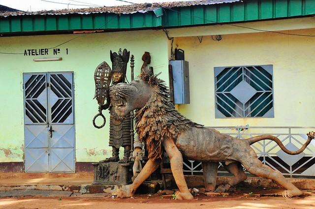 Rue des Artisans, Foumban, Cameroon