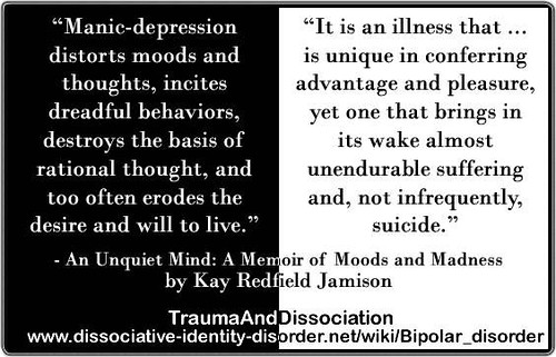 quote about bipolar from an unquiet mind a memoir of mo flickr