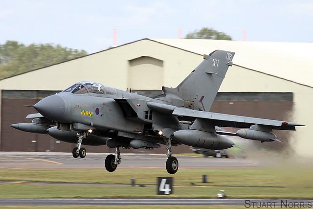 Tornado GR4 ZA410 / 016  - XV(R) Squadron RAF Lossiemouth