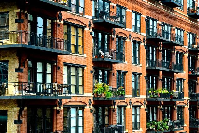Lofts in historic building - Explore '15 #50 - (1898).  Clinton Street Chicago IL