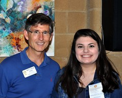 PDG Governor Matt Kane introduced Ms. Allison Becker. Allison is a student at Cardinal Gibbons HS and is our club's outgoing Rotary Exchange student starting at the end of this summer.. Allison will be in Argentina.