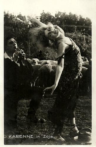 Diana Karenne in Zoya (1920)