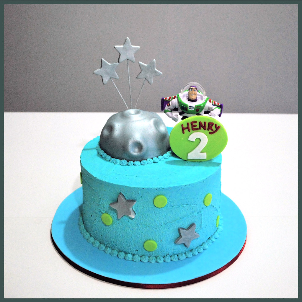 Admirable Buzz Lightyear Cake A Photo On Flickriver Funny Birthday Cards Online Inifofree Goldxyz