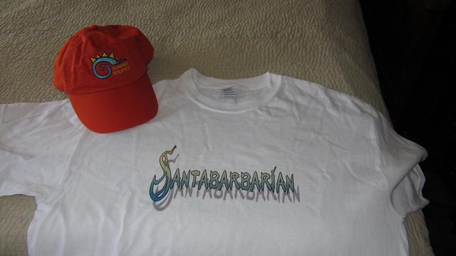 IMG_0646 Solstice hat Santa Barbarian shirt