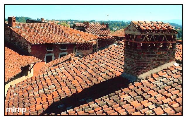 Les toits de Pérouges