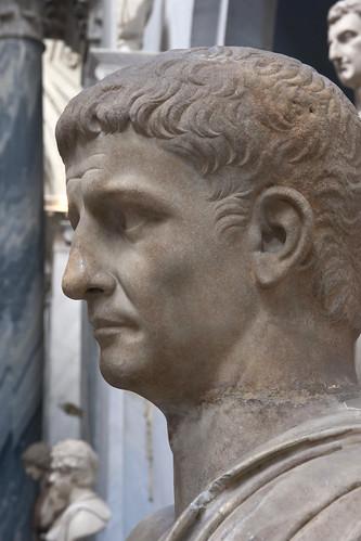 Emperor Claudius (AD 41 - AD 54)   by Egisto Sani