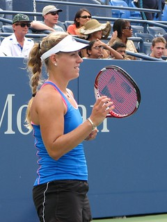 Angelique Kerber | by Kenneth Hong