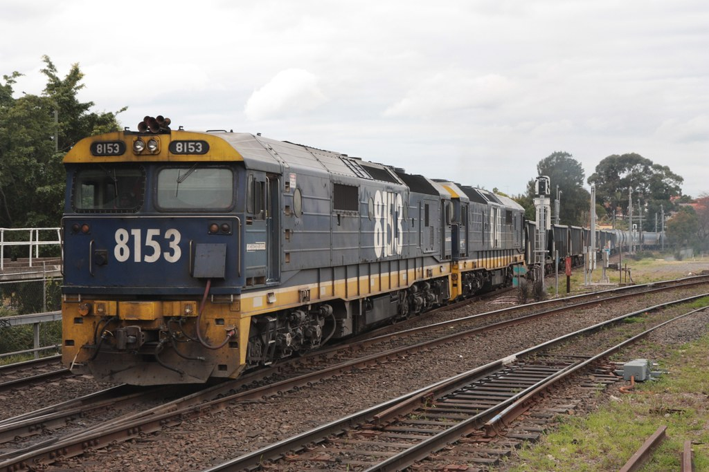 8153 and 8141 at Marrickville, 23.8.2010 by John Ray