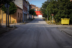 A una calle