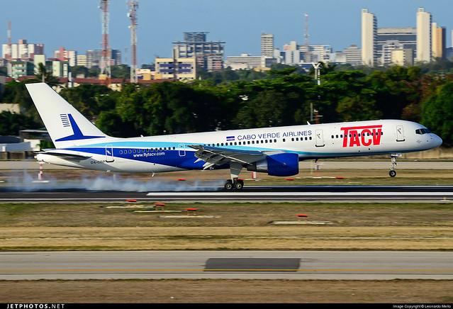 TACV - Boeing 757-200 - D4-CBP - SBFZ