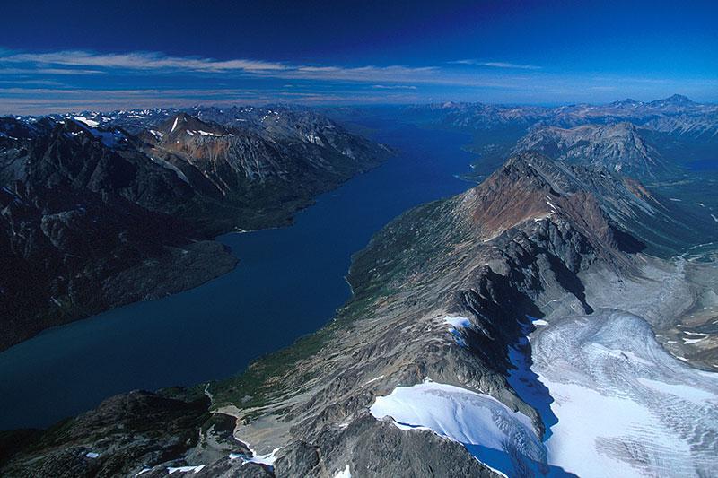 Beautiful Chilko Lake, Chilcotin, British Columbia.