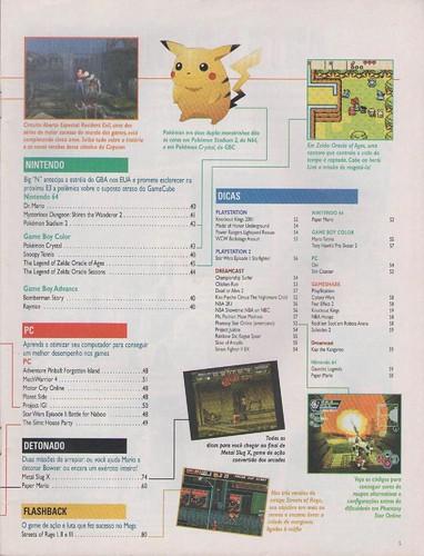 Super Gamepower n.85 - sumário