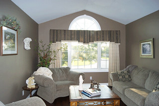 Step Box Pleat Valance