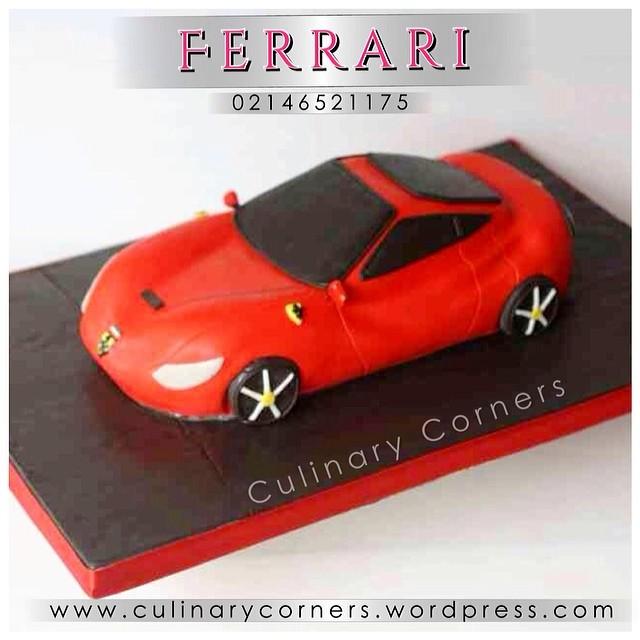 Kue Ulang Tahun Bentuk Mobil Ferrari You May Custom