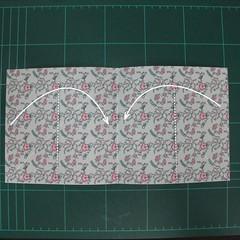 วิธีพับกระดาษรูปหัวใจคู่ (Origami Double Heart)  004