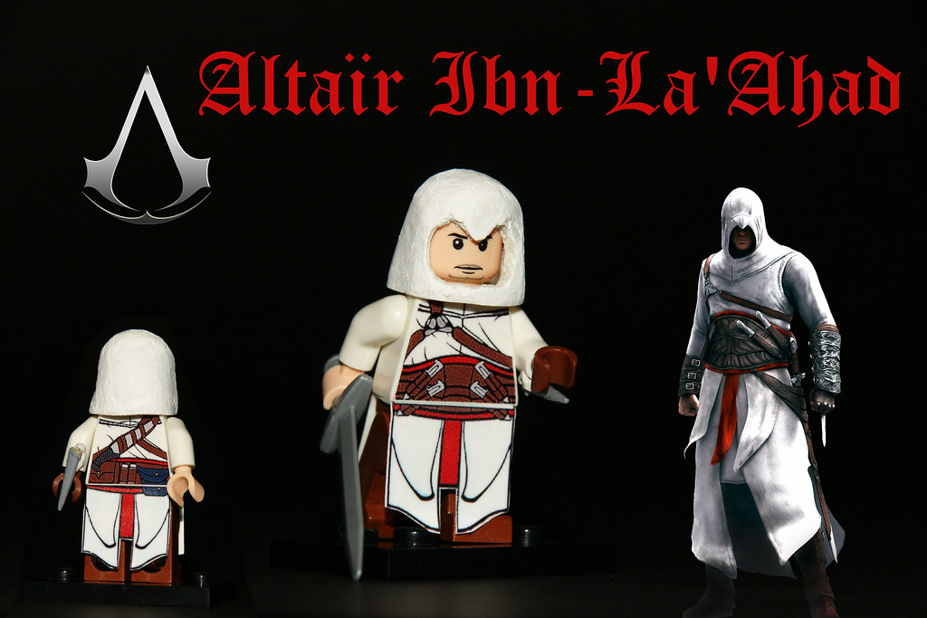 Lego Custom Altair Ibn La Ahad Assassins Creed Lego Custom Flickr