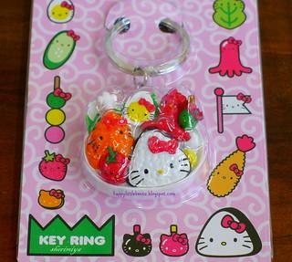 Hello Kitty Bento Key Chain | by sherimiya ♥