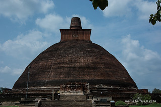 Sri Lanka. Anuradhapura. Jetavanarama Dagoba.