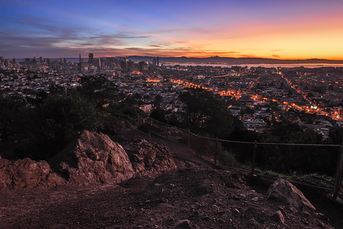 sanfrancisco sunrise dawn redrock coronaheights tequillasunrise