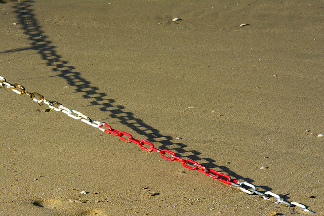Shadow of a chain