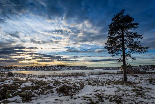 sunset silhouette norway cloudporn tønsberg vestfold jarlsø husøy flaket husøysundet